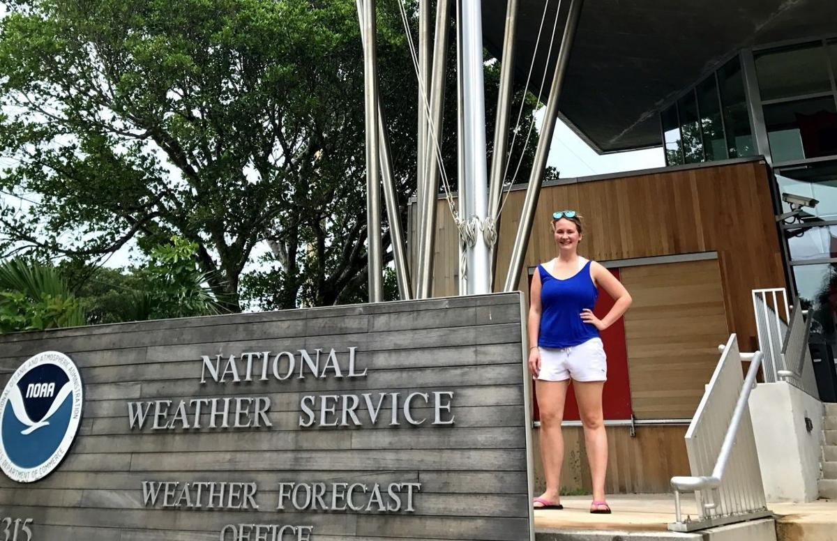 Melody lovin at the national weather service s key west office prior to the arrival of hurricane irma
