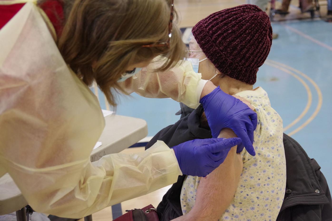 Mass Vaccine Event Jan. 16