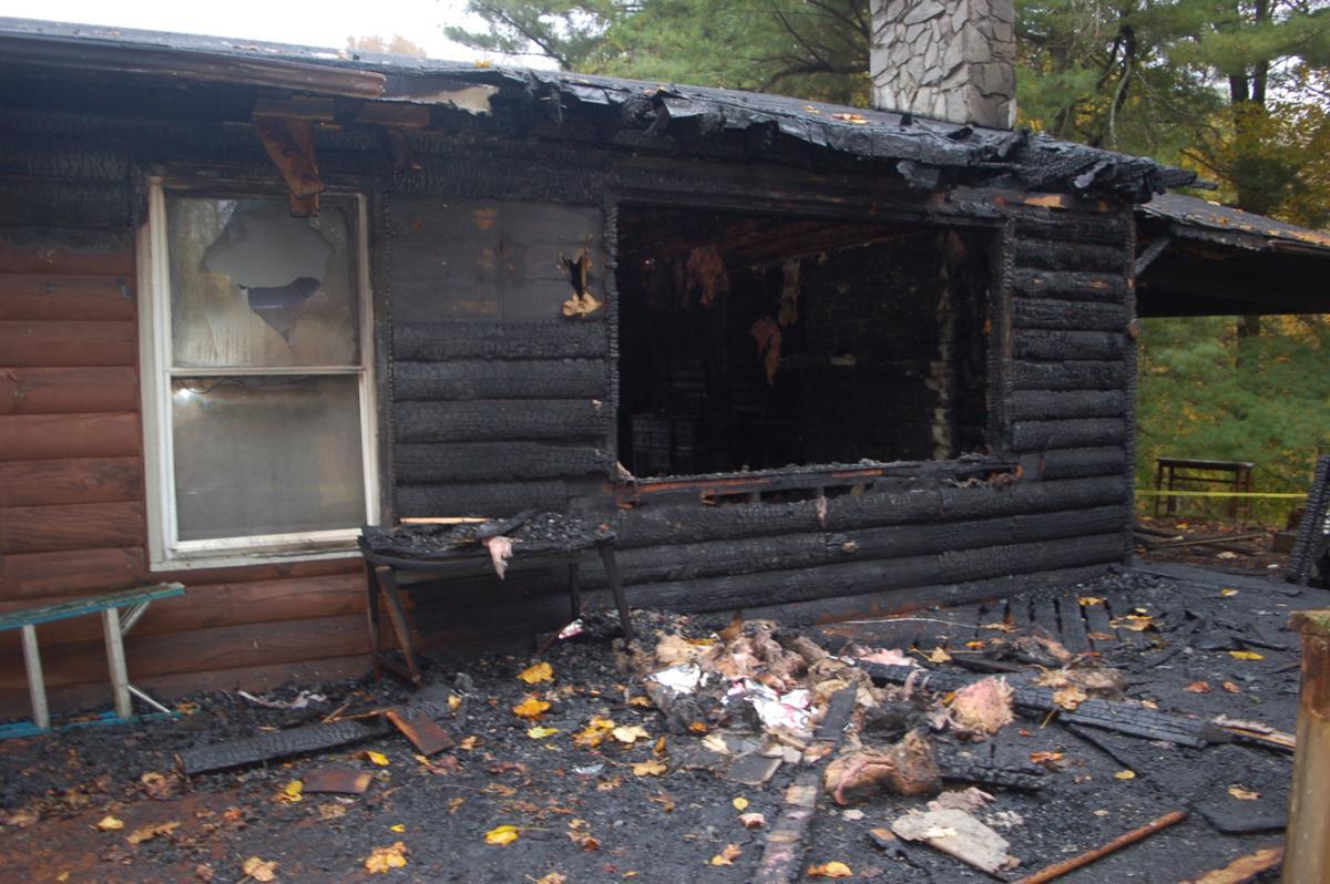 220 Hummingbird Hills fire damage