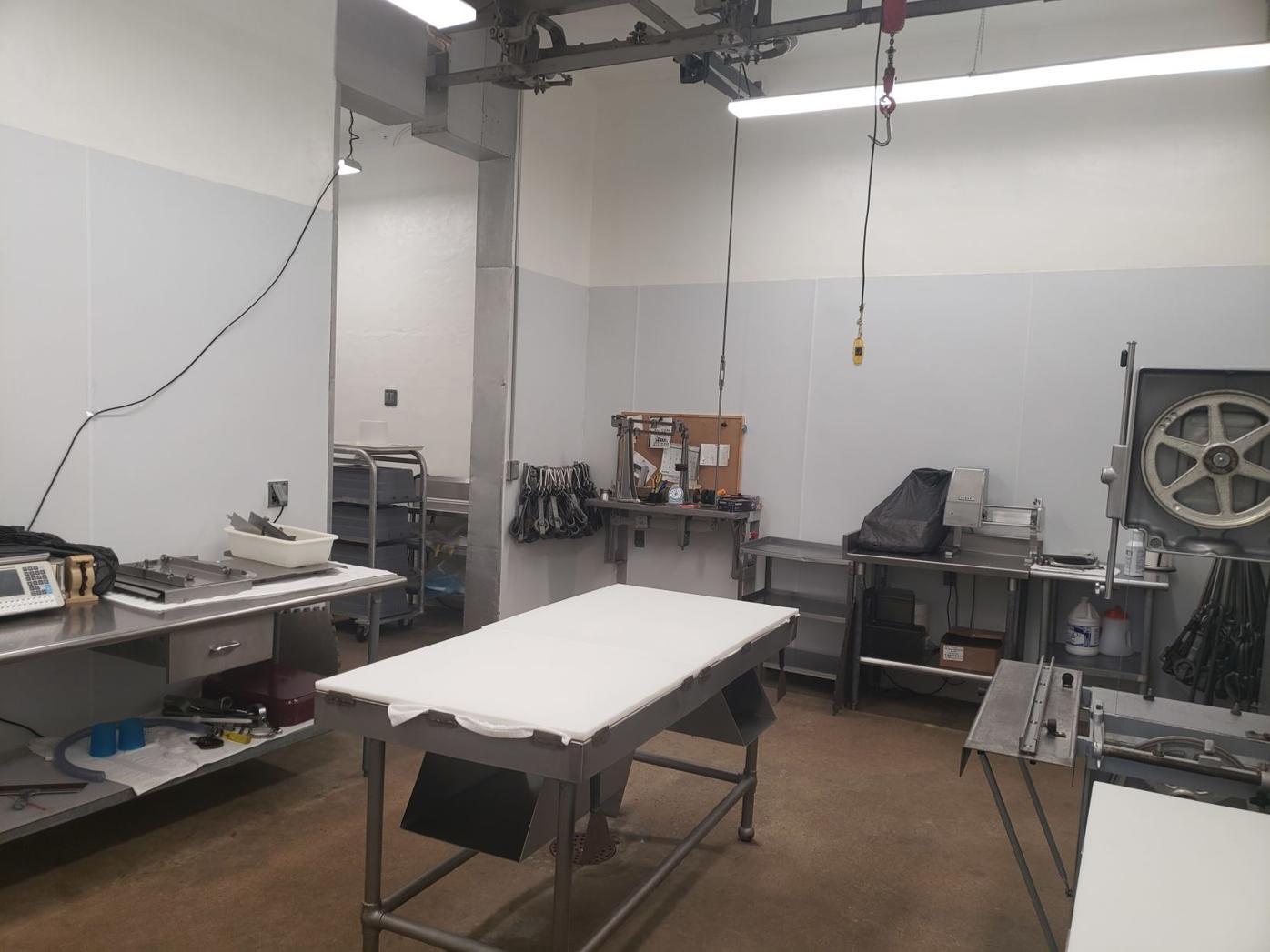 Butchery operating room