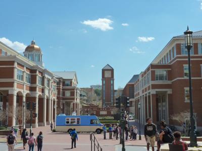 UNC-Charlotte campus