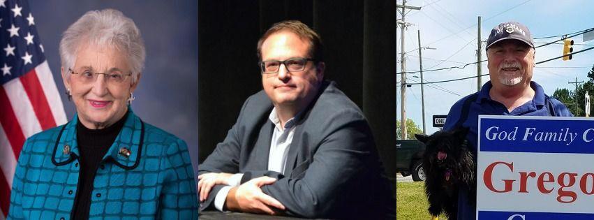 Virginia Foxx, David Wilson Brown, Jeff Gregory