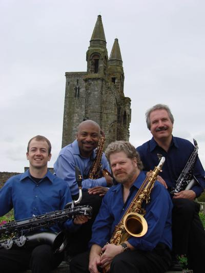 New Century Saxophone Quartet will perform at St. John's as part of its Summer Concert Series