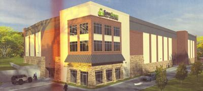 Proposed Save Green Self Storage facility