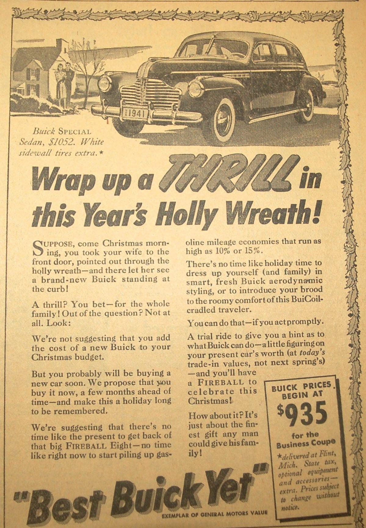 Buick advertisement