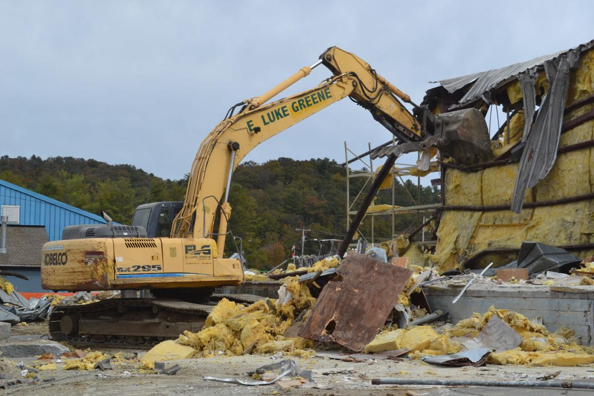 Rec center demo, Oct. 25