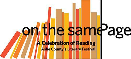On the Same Page Literary Festival logo