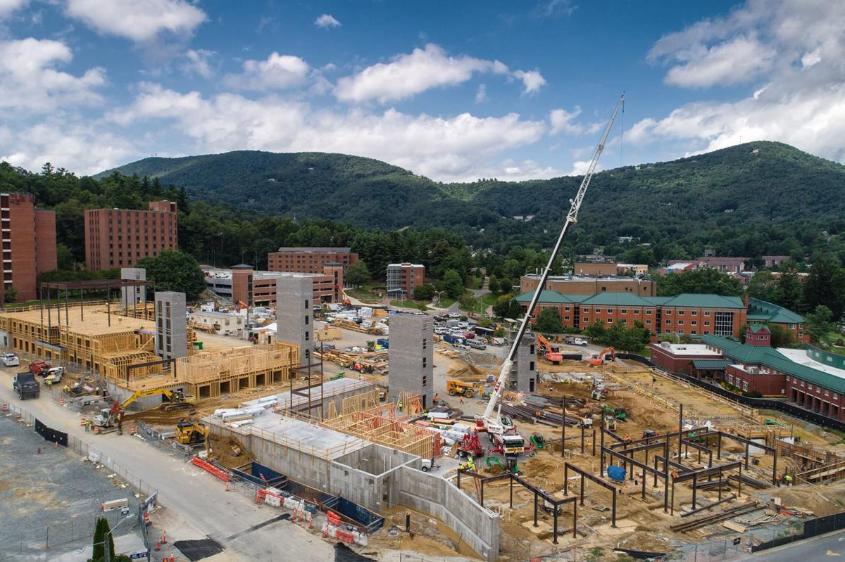 Residence hall construction