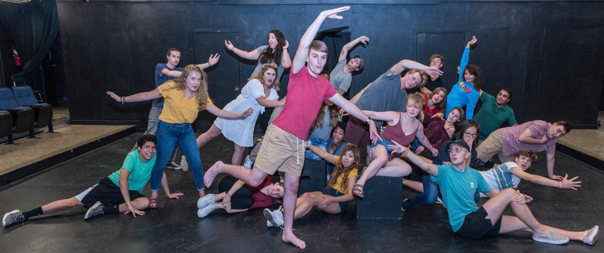 Two dozen first year and transfer theatre students are taking part in rehearsals for the 2019 edition of the First Year Showcase.