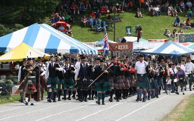 pipe band front