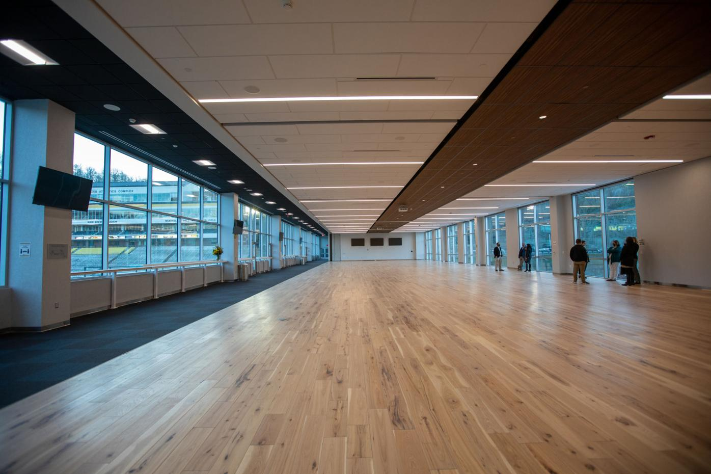 End zone project ballroom