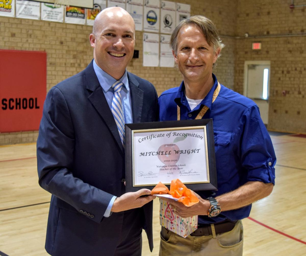 Image result for Mitchell wright teacher of the year