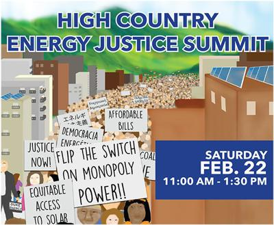 High Country Energy Justice Summit