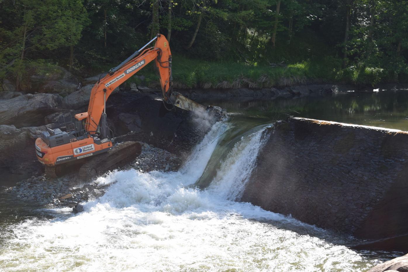 Ward Mill Dam Removal