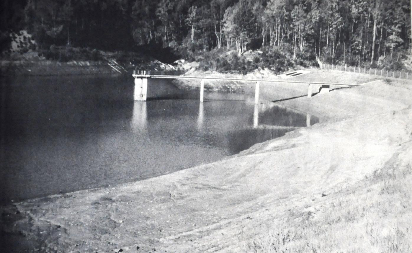 Winkler's Creek reservoir