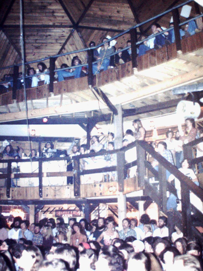 The crowds of PB Scott's were full of young music enthusiasts in the early 1980s