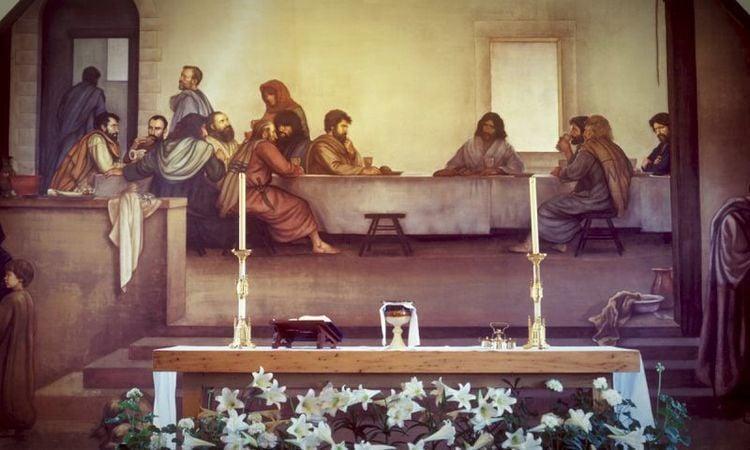 Last Supper fresco
