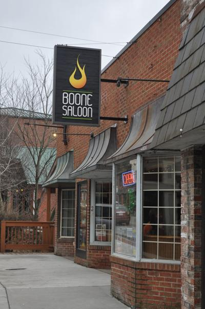 Boone Saloon entrace