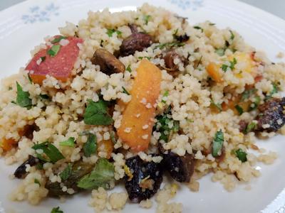 A couscous salad