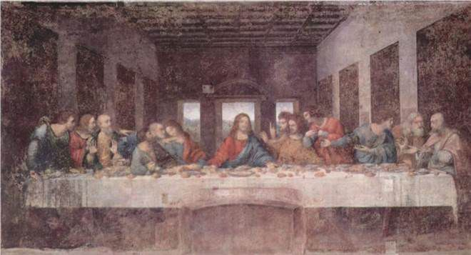 Leonardo Da Vinci's painting of The Last Supper