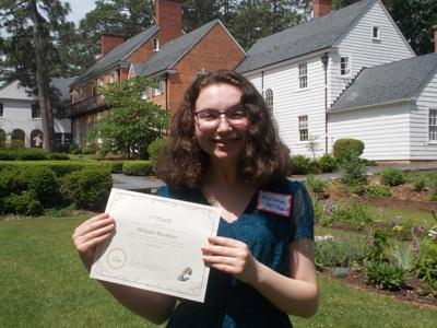Deep Gap teen wins NC poetry competition