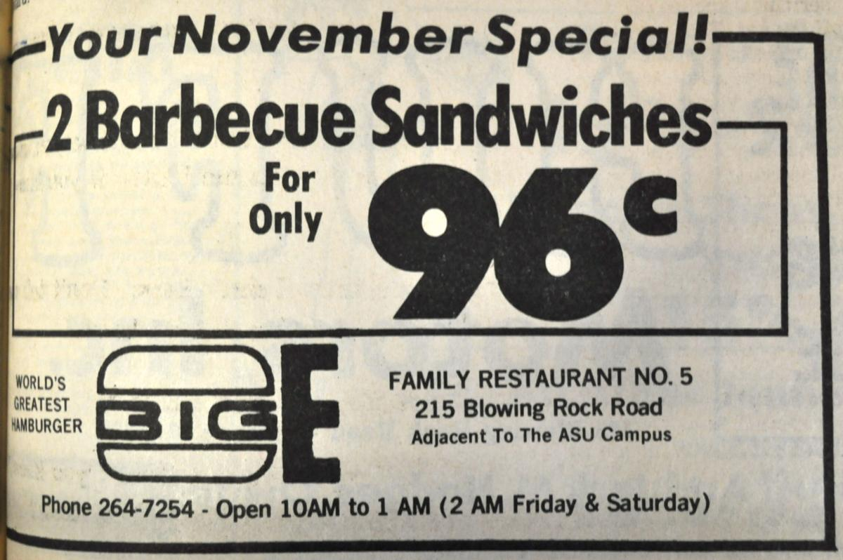 Big E restaurant, Blowing Rock