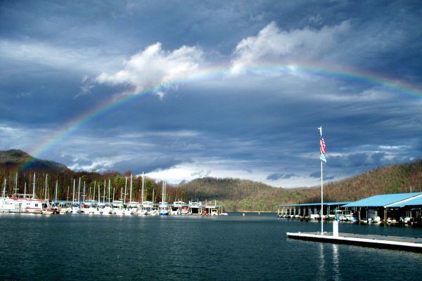 lakeshore rainbow