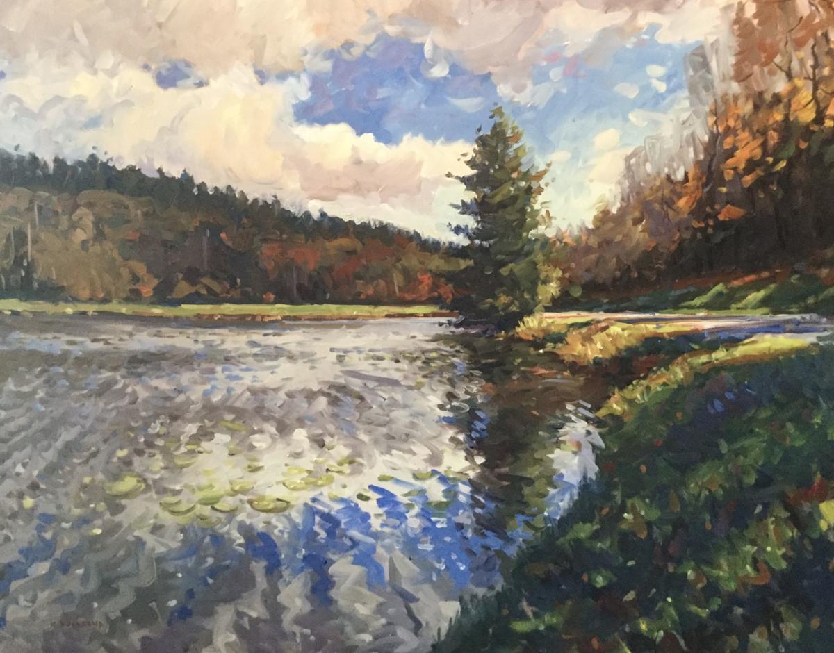 """'Bass Lake' (48"""" x 60"""")"""