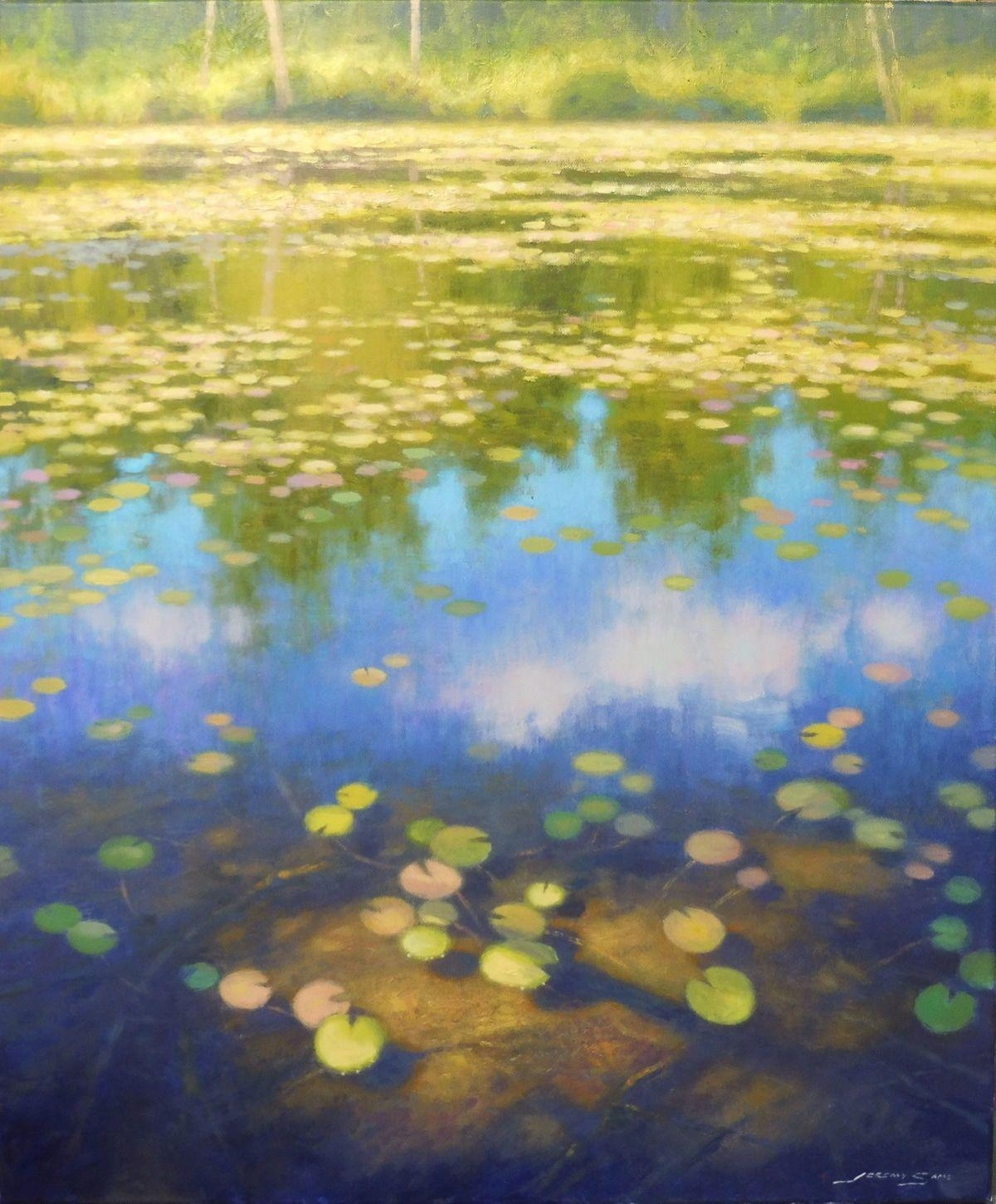 'Bass Lake Waterlilies' by Jeremy Sams