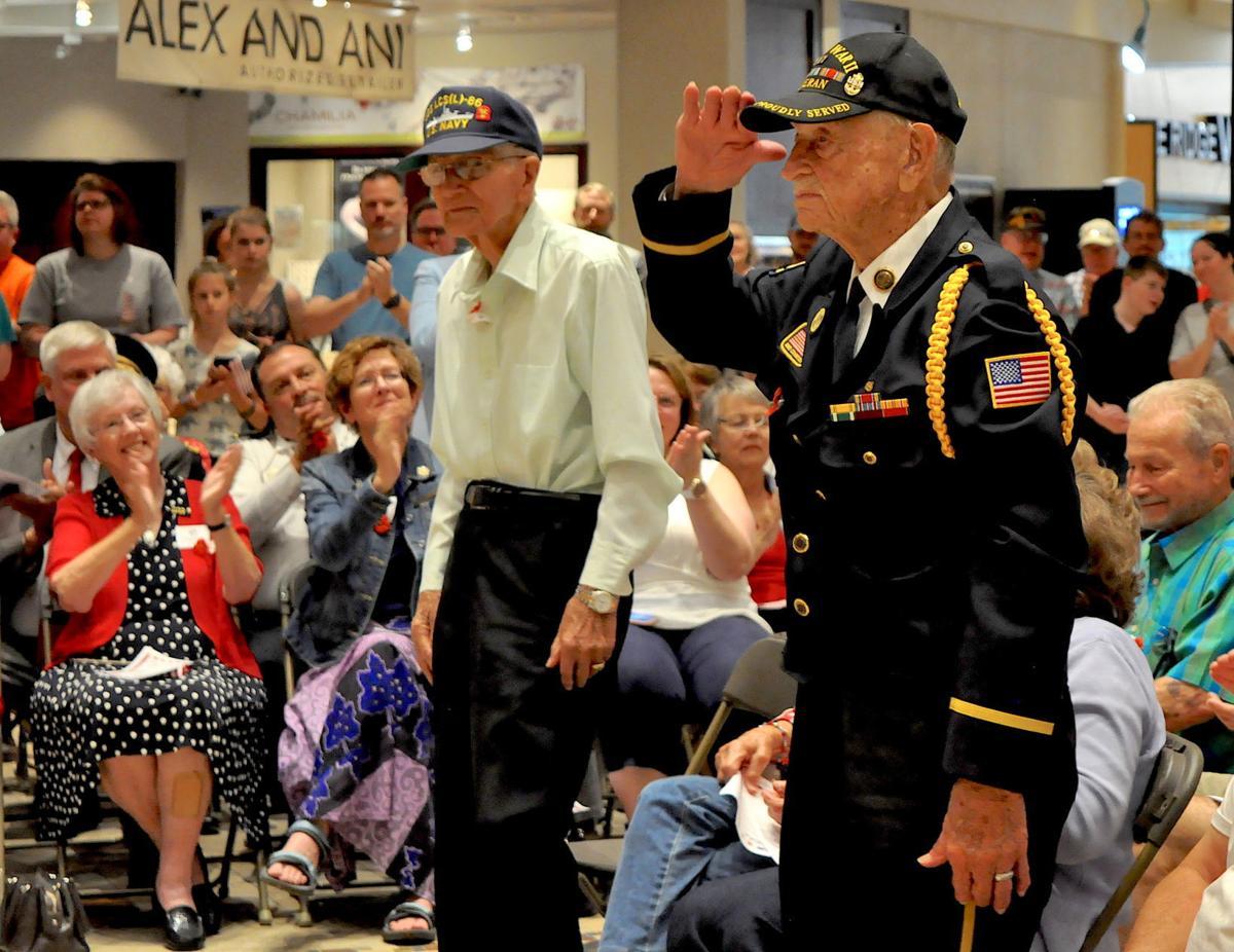 World War II veterans Watson and Rucker