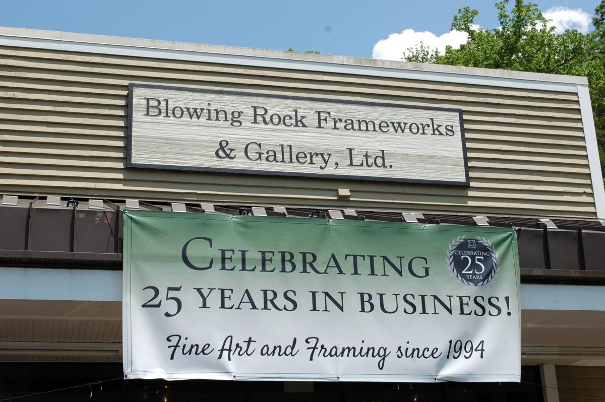 Blowing Rock Frameworks and Gallery