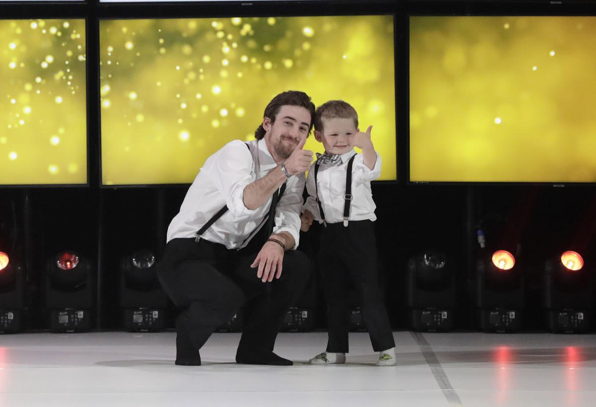 Ryan Blaney, Mason Eldred catwalk