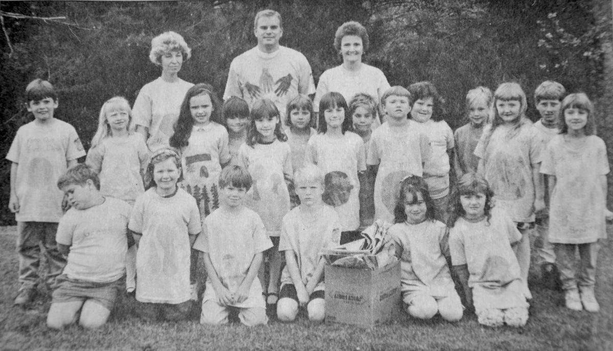 1992 Blowing Rock School students