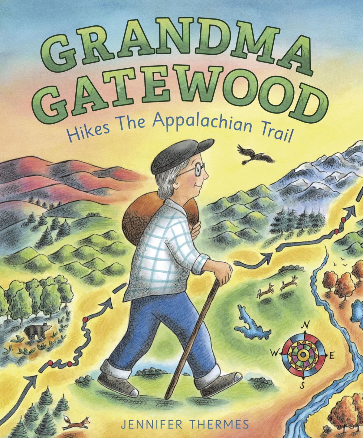 'Grandma Gatewood hikes the Appalachian Trail'