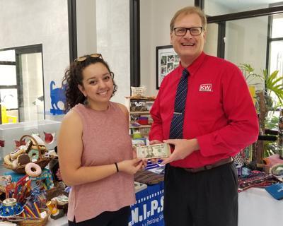 Raising funds for Watauga Humane Society, brick by brick