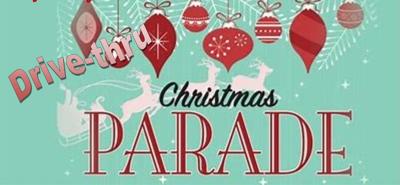 Drive-thru Christmas parade