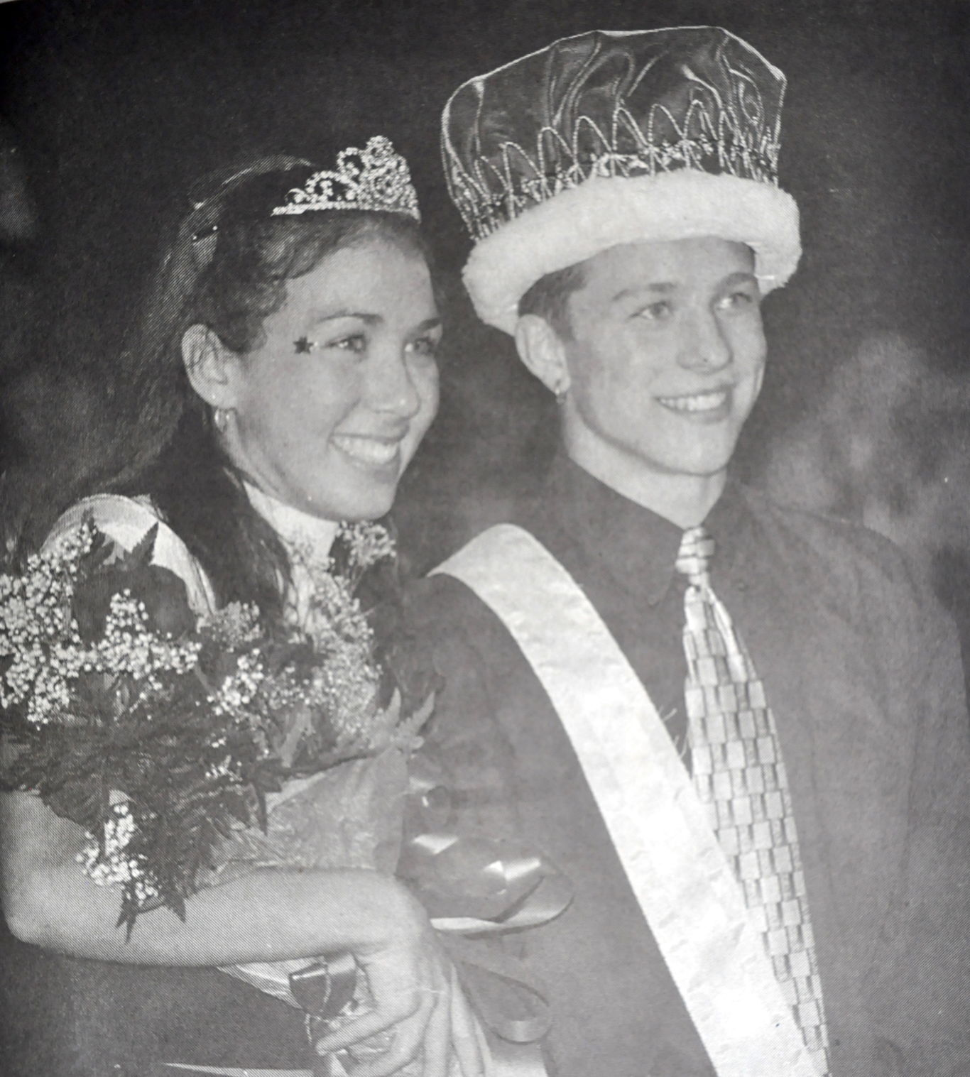 2001 WHS Homecoming Queen and King