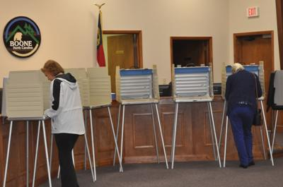 Voting in Boone