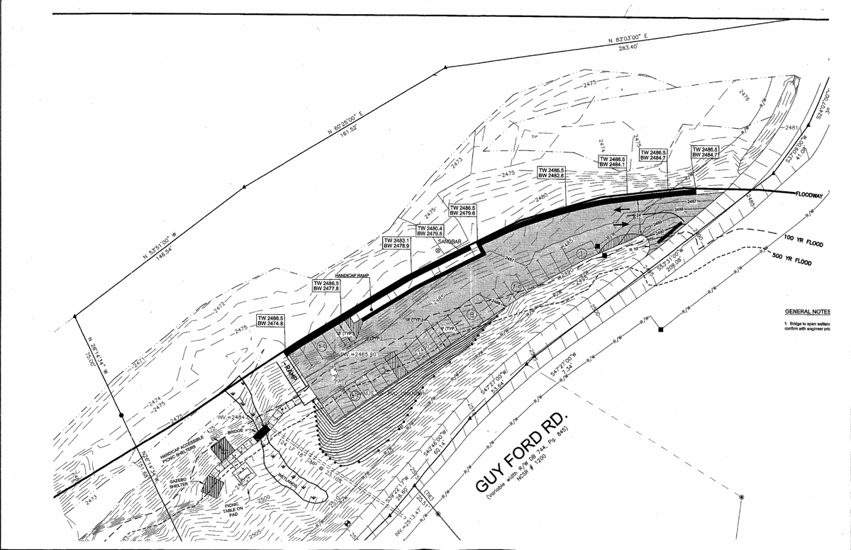 Guy Ford Road river access plan
