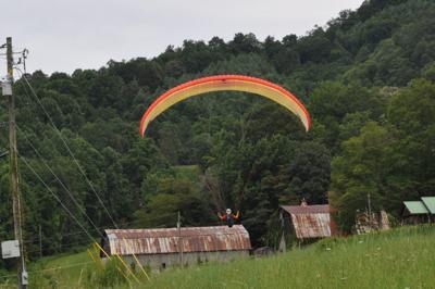 Tater Hill Open landing