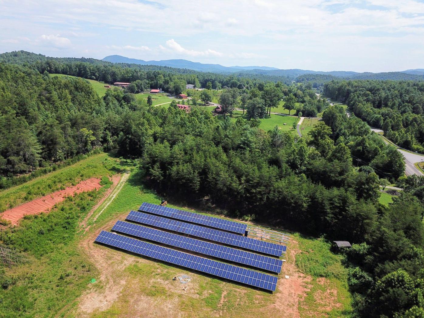 Blue Ridge Energy solar array