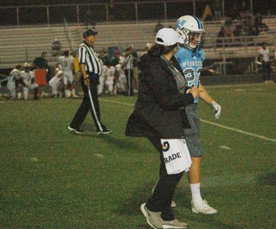 Satterfield injures knee