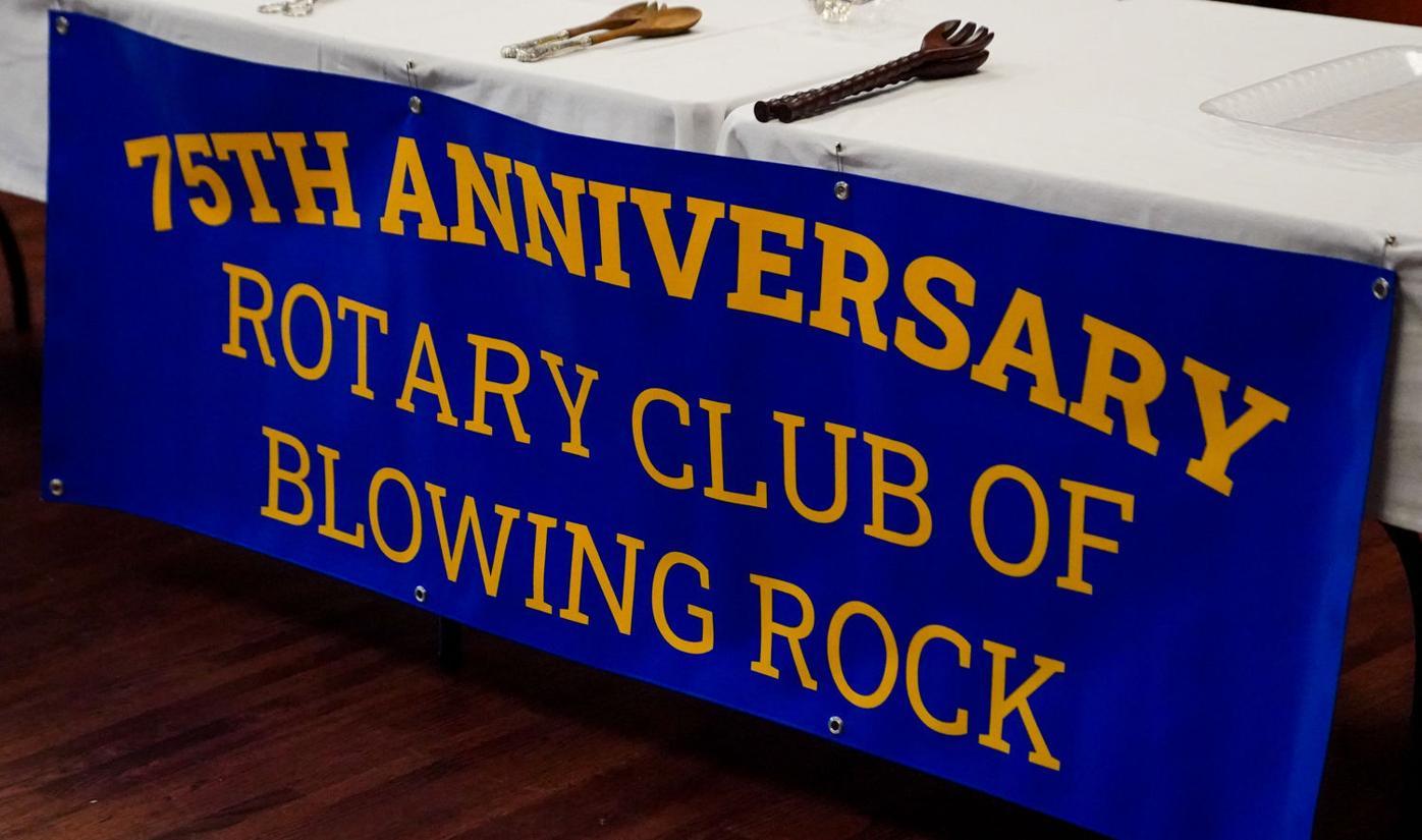 Blowing Rock Rotary at 75