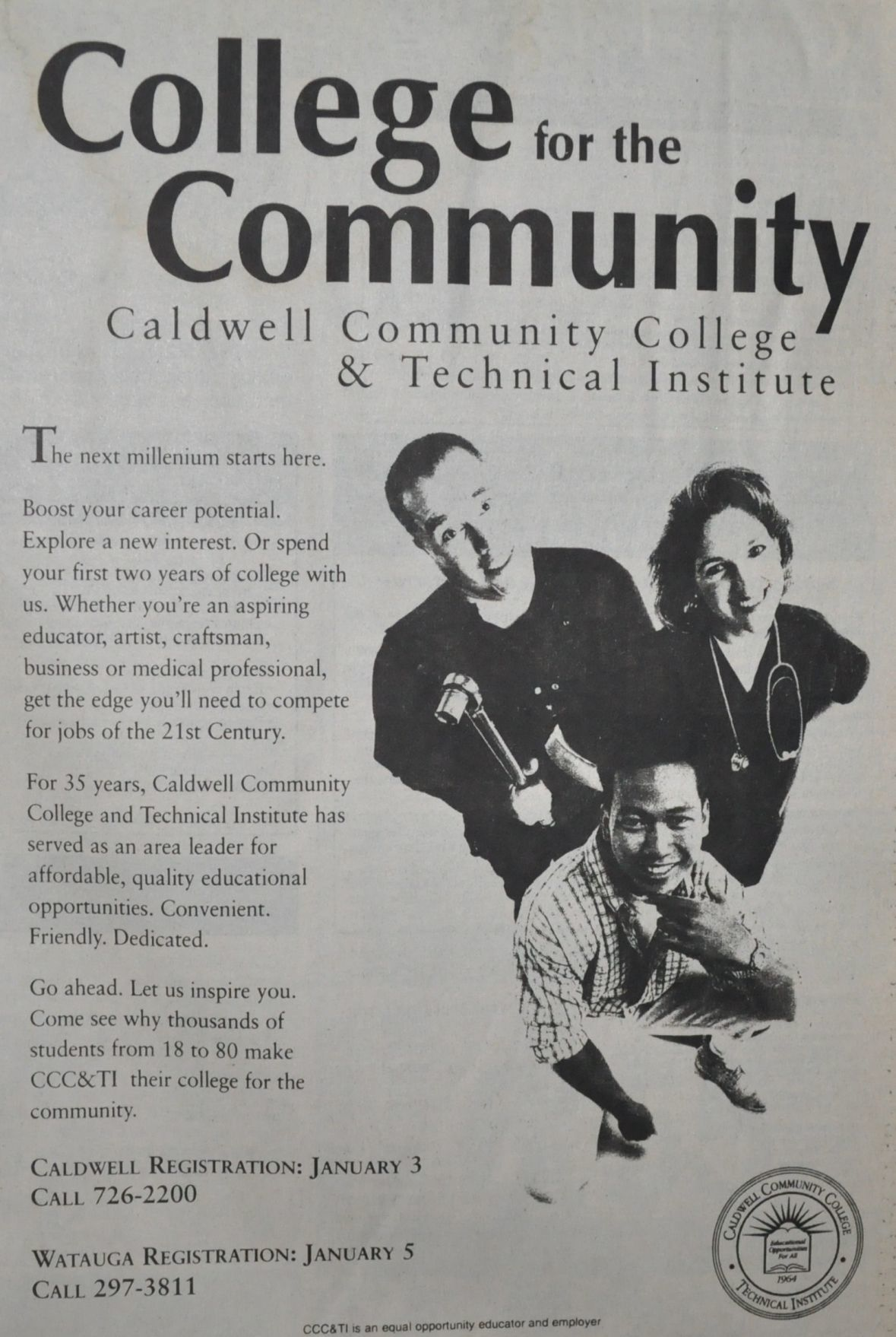 CCC&TI advertisment