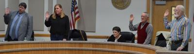Board of Elections swearing in