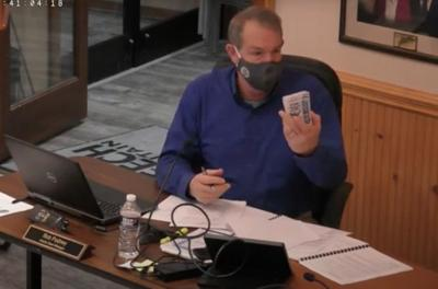 Pudney presents counterfeit passes