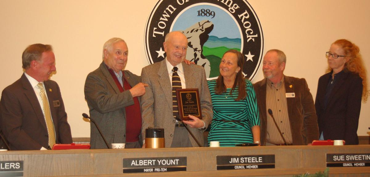 Council thanks Steele