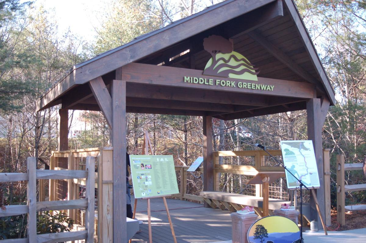 Middle Fork Greenway overlook