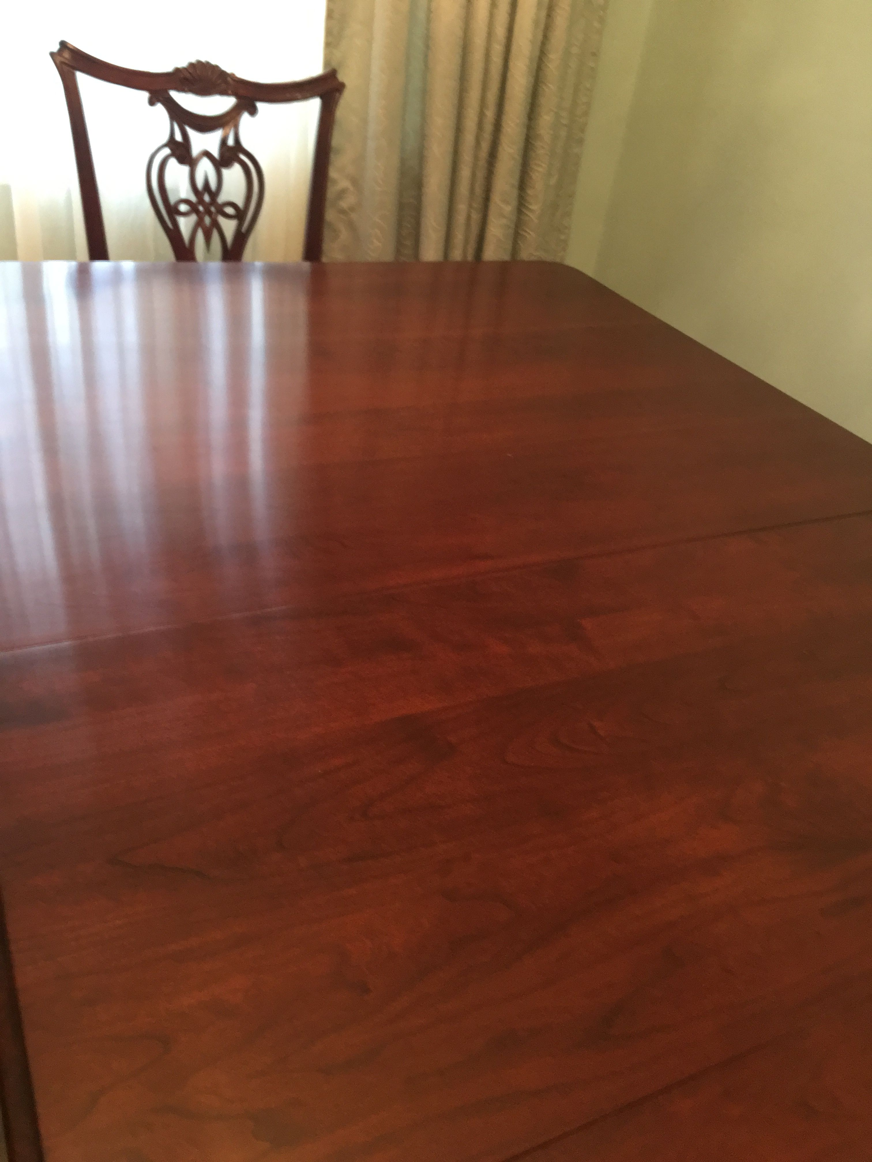 Beautiful Cherry Dining Room Table image 1