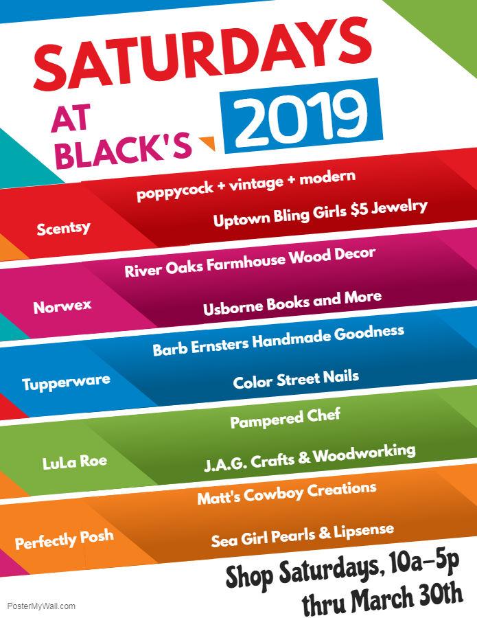Saturdays at Blacks